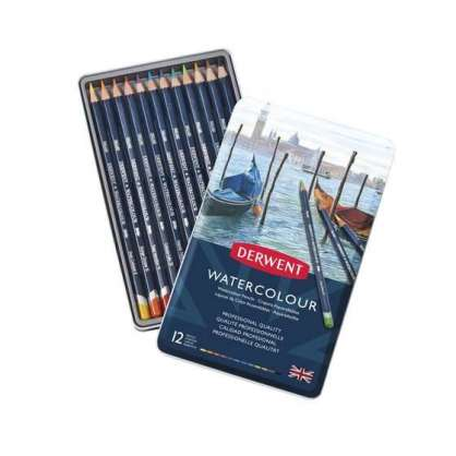DERWENT WATERCOLOR SULU KURU 12'Lİ SET