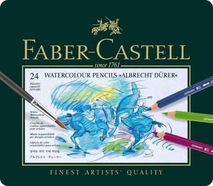 FABER CASTELL WATERCOLOR SULU KURU 24'LÜ SET