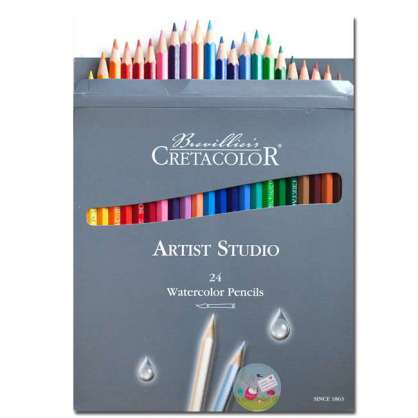 CRETACOLOR ARTİST STUDIO WATERCOLOR PENCİLS 24'LÜ
